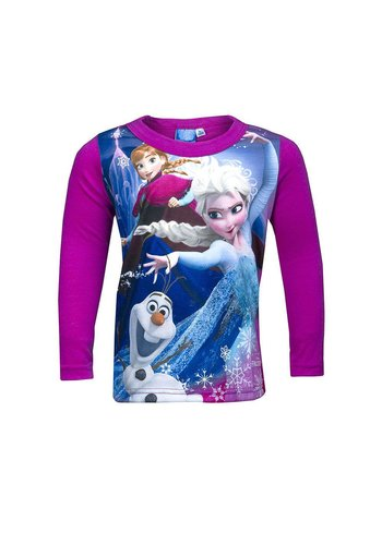Disney Frozen Kinder Shirt - fuchsia