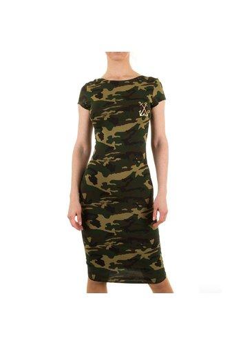 SHK MODE Dames jurk van Shk Mode - Groen