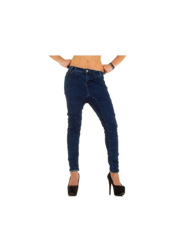 Simply Chic Dames Jeans van Simply Chic - Blauw
