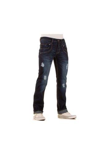 Neckermann Heren Jeans - DK. Blauw