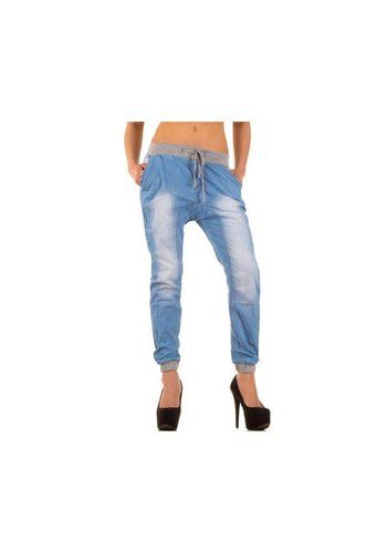 Simply Chic Dames Jeans van Simply Chic -Licht  Blauw