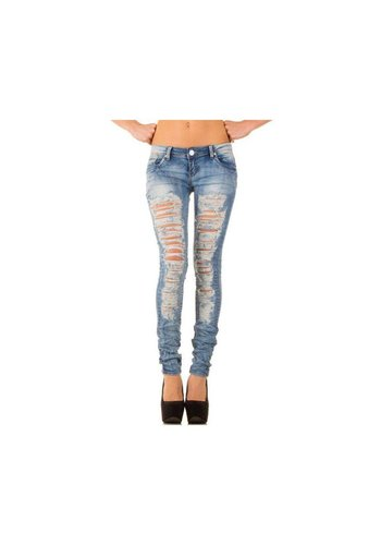 Simply Chic Dames Jeans van Simply Chic - L.Blauw