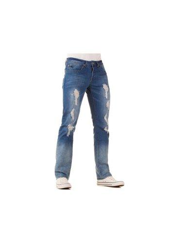 Neckermann Heren Jeans - L.Blauw
