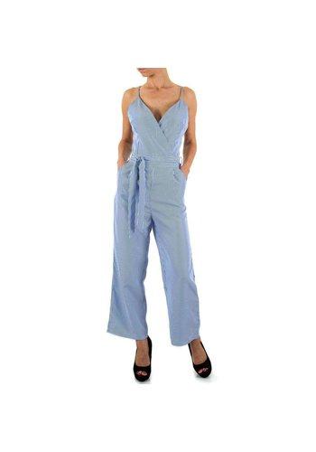 SHK MODE Dames Overall van Shk Mode - Blauw