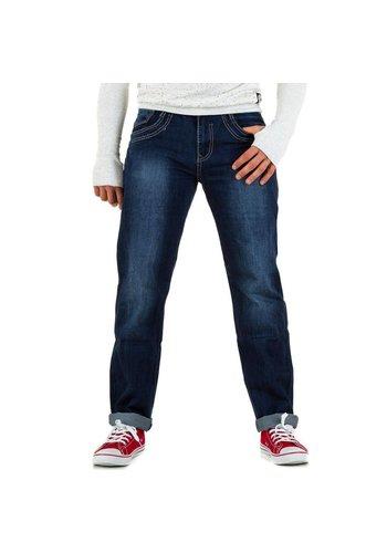 Popper´s Heren Jeans van Popper´S - Blauw