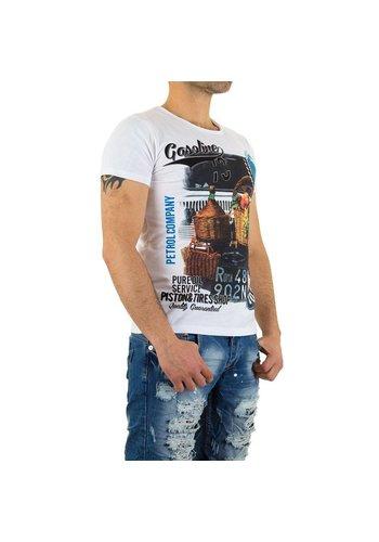 X - Man Heren T-Shirt van X-Man - Wit