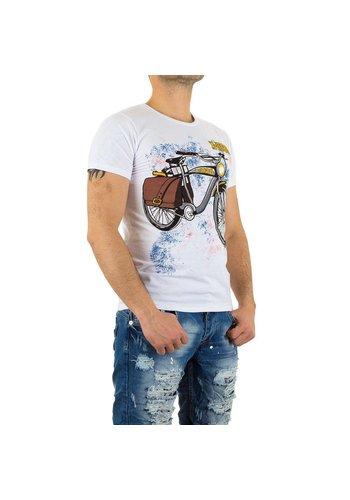 X-Man Heren T-Shirt van X-Man - Wit