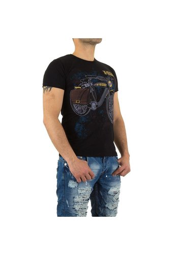 X-Man Heren T-Shirt van X-Man - Zwart
