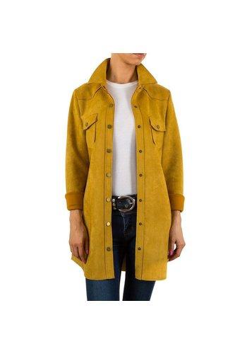 HF-Fashion Dames jack - geel
