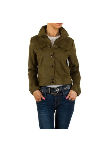 HF-Fashion Dames jack - khaki