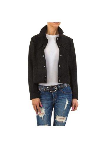 HF-Fashion Dames jack - zwart