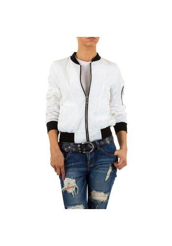 HF-Fashion Dames jack - wit