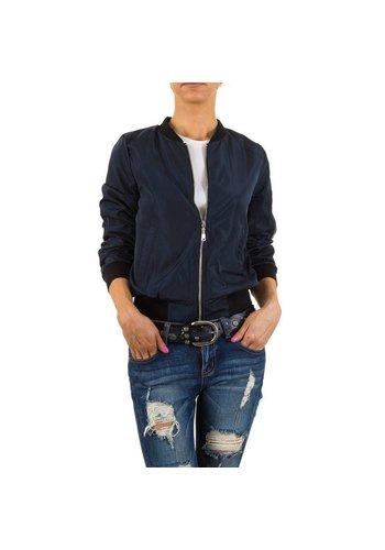 HF-Fashion Dames jack - blauw