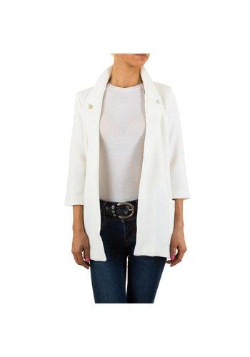 HF-Fashion Dames blazer - wit