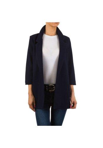 HF-Fashion Dames blazer - blauw