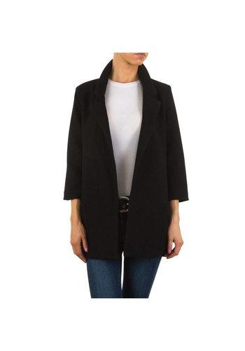 HF-Fashion Dames blazer - zwart