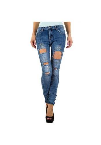 Smagli Dames Jeans van Smagli Jeans - Blauw