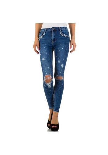 Laulia Dames jeans - blauw