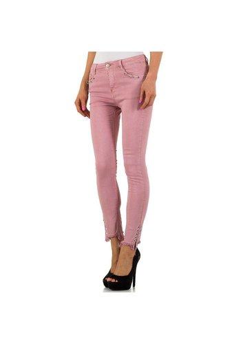 Laulia Dames jeans - roze