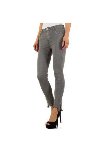 Laulia Dames jeans - grijs