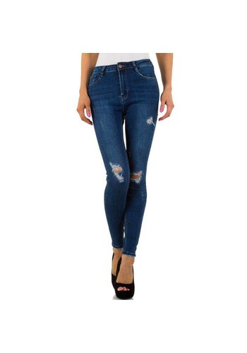 Laulia Dames Jeans van Laulia - Blauw