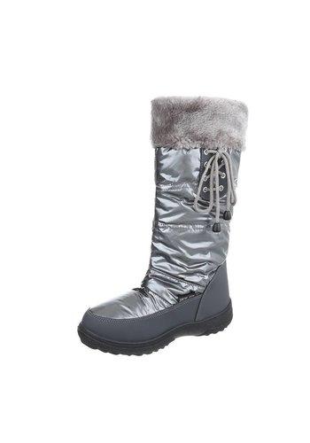 Dames sneeuwlaarzen - grijs