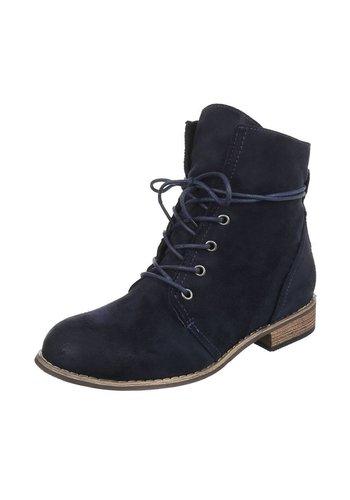 Dames Boots - DK.Blauw