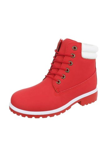Dames Boots - Rood