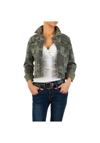 Dmagli Jeans Dames Jack van Smagli Jeans - Army Groen