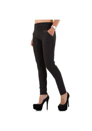 Best Fashion Dames Broek van Best Fashion - Zwart
