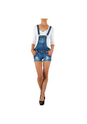 Girl-Vivi Dames Shorts van Girl Vivi - Blauw