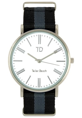Tailor Dutch Tailor Dutch horloge zilver wit