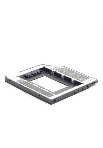 """Cablexpert Montagerahmen für 2,5 """"Festplatte oder SSD in einem 5,25"""" SATA Smart Bay"""