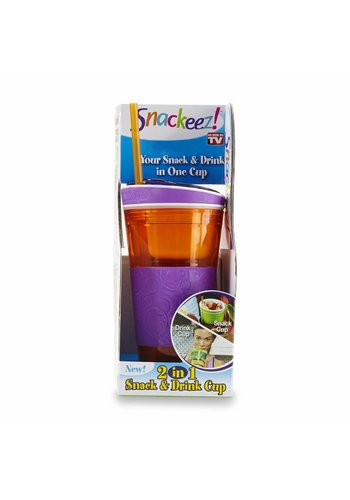 Snackeez! Snack en drinkfles 2 in 1