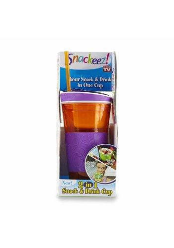 Snackeez! Snack und Trinkflasche 2 in 1