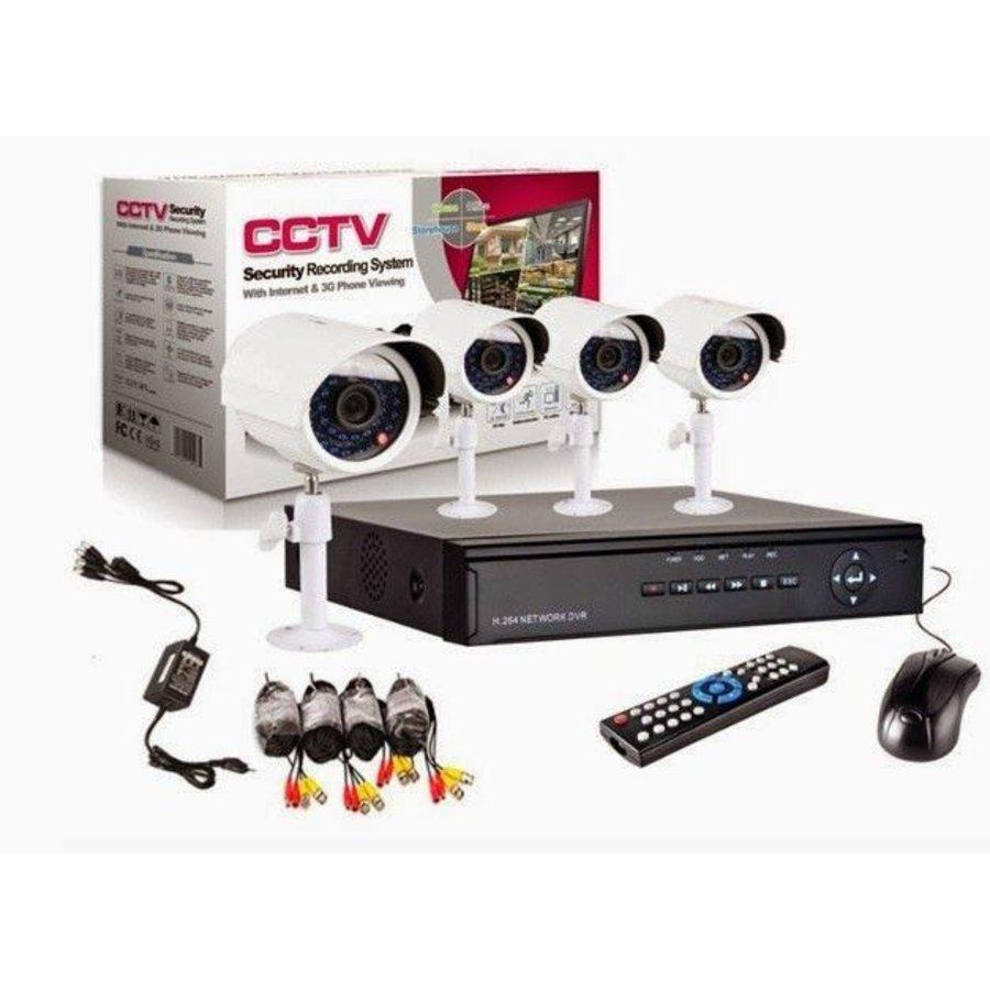 DVR-Kamera-System Plug-and-Play - 4 Kameras
