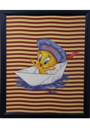Looney Tunes Affiche avec liste 55,5x46 cm