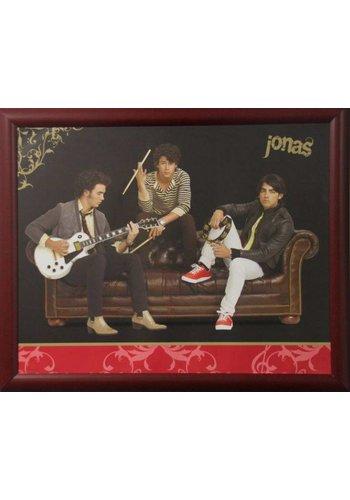 Jonas Brothers Affiche avec liste 55,5x46 cm