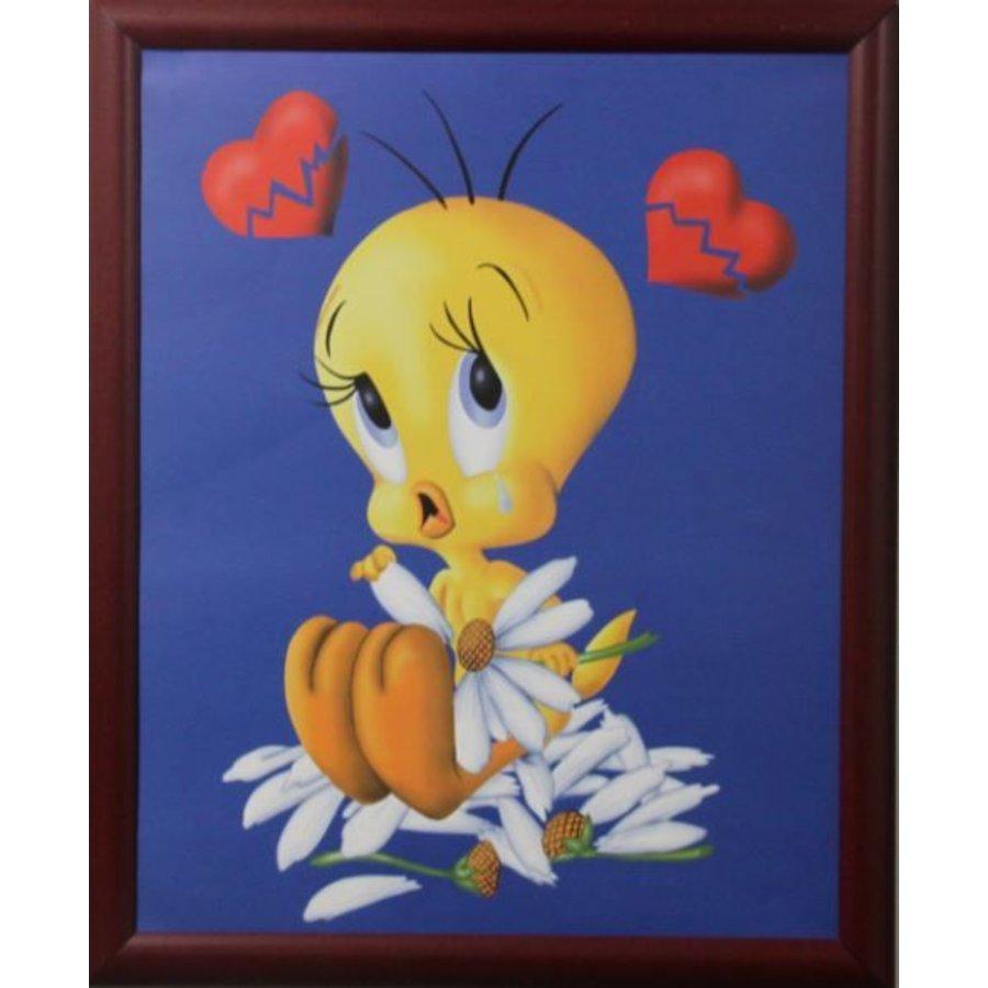 Affiche avec liste 46x55,5 cm