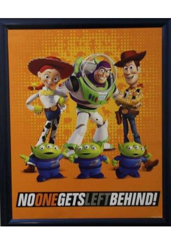Disney Toy Story Poster mit Liste 46x55,5 cm