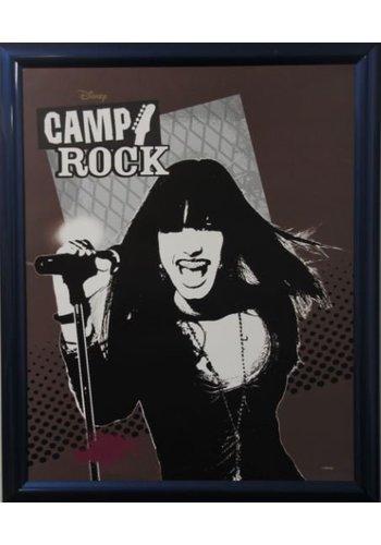 Disney Camp Rock Poster met lijst 46x55,5 cm