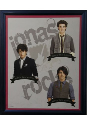 Jonas Brothers Affiche avec liste 46x55,5 cm