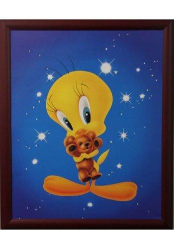 Looney Tunes Affiche avec liste 46x55,5 cm