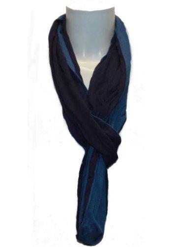 Romano Foulard femme bleu