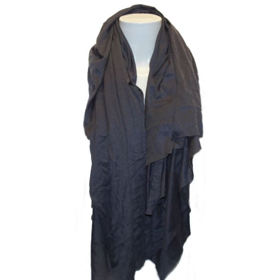 Damen Schal blau / grau