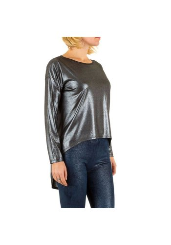 Neckermann Dames blouse one size - zilver