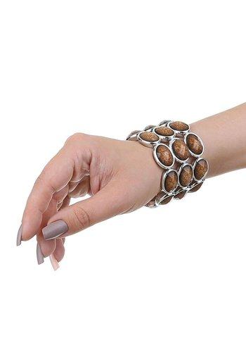 Neckermann Dames Armband - Taupe