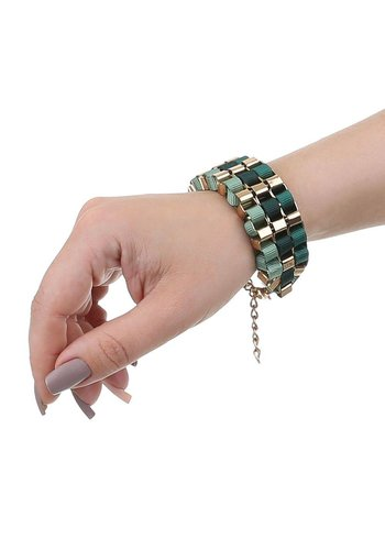 Neckermann Dames Armband - Groen