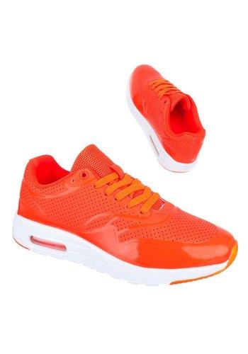 Neckermann Dames Sportschoenen oranje