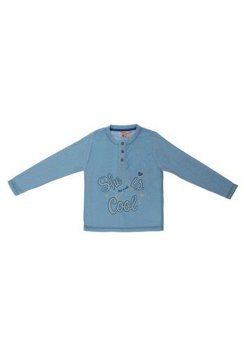 Kimifrena Kinder lange mouwenshirt - blauw